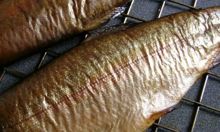 Hot Smoked Trout, Spinach & Horseradish Soufflé Tart