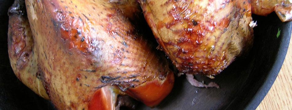 Hot Smoked Pheasant